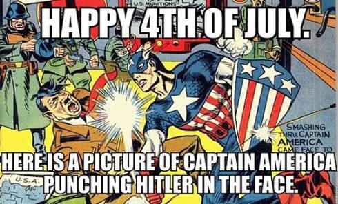 funny-Hitler-Captain-America-comic-punch