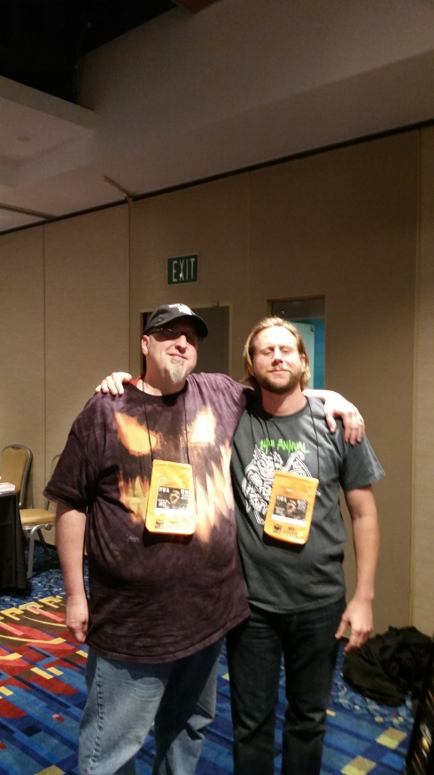 Me and the awesome Brian Kirk!