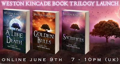 Weston Kincade Book Launch Banner